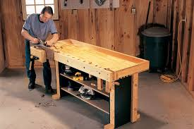 Plans For Building A Wooden Workbench by Tom U0027s Torsion Box Workbench Popular Woodworking Magazine