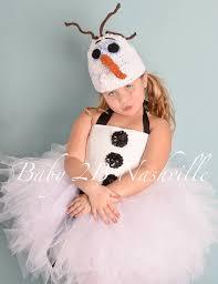 Frozen Halloween Costumes Adults Olaf Basic Winter Snowman Tutu Costume Girls Sz 7 8 Kids