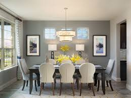 Contemporary Dining Room With Pendant Light  High Ceiling - Pendant light for dining room