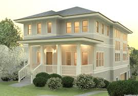Two Story Craftsman House Plans Dream House Plan Has An Apartment On The Bottom Level And