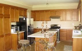 plain kitchen color schemes with oak cabinets inside design