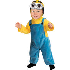 Kids Halloween Costumes Usa Minion Toddler Jumpsuit Halloween Costume Walmart Com