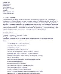 Assistant Property Manager Resume Sample by Property Management Resume Template Contracts Manager Resume