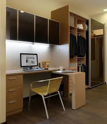 Space Saving Closet Ideas With A Dressing Table Study Table With Wall Cabinet U0026 Wardrobe Our Showroom