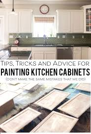 Tips For Painting Kitchen Cabinets The Polka Dot Chair - Can you paint your kitchen cabinets
