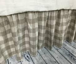 buffalo check bed skirt country bed skirts plaid bed skirt up to