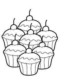 tadpole coloring page cupcakes coloring page free printable cupcake coloring pages for