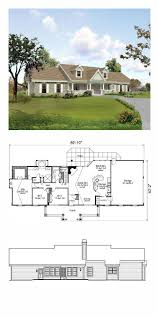 1398 best house plans images on pinterest house floor plans cape cod house plan 95806 total living area 1814 sq ft