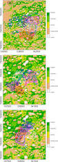 Thematic Maps Fig 2 Thematic Maps Of The Nhumirim Ranch And Neighboring Areas