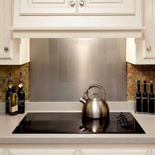 Backsplash Tile For Kitchen Peel And Stick 100 Kitchens With Stainless Steel Backsplash Kitchen