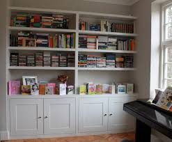 White Bookcase With Drawers by Bookshelf Inspiring Bookshelves With Cabinets Remarkable