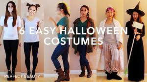 last minute diy halloween costume ideas perfect beauty youtube