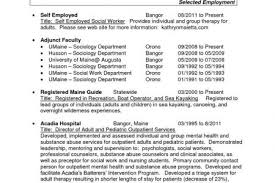 Recruiting Resume Examples by How To Create A Resume After Being Self Employed Self Employment