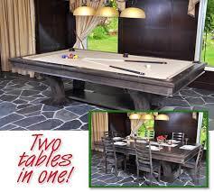 Pool Table In Dining Room by Canada Billiard La Condo Devine Dining Pool Table U2013 Robbies Billiards