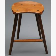 Counter Height Vanity Stool Buy A Custom Made Saddle Seat Bar Stool Counter Height Made To