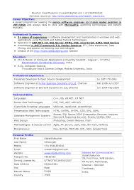 Best Software Developer Resume by Software Engineer Resume Summary Resume For Your Job Application