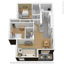 Floor Plan 2 Bedroom Apartment Floor Plans Virtual Tours The Courtyards