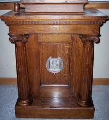 masonic lodge furniture collectors weekly