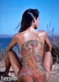 Tattoos For Girls Back