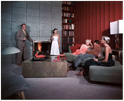 mid century cocktail party at the spenser architect residence