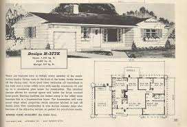 century vintage homes floor plans home plan
