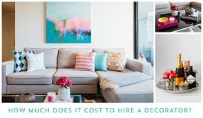 how much does it cost to hire a decorator emma blomfield