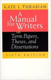 Amazon com  A Manual for Writers of Term Papers  Theses  and     Amazon com