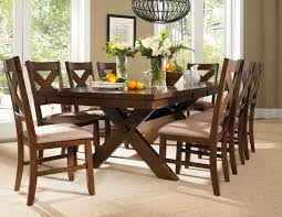 Dining Room Table Pictures Amazon Com Roundhill Furniture Karven 9 Piece Solid Wood Dining
