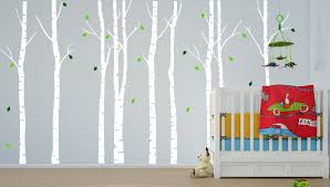 Tree Decal For Nursery Wall by Forest Nursery Wall Decals Thenurseries