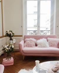 Pink Sofa Bed by 16 Ultra Chic Blush Pink Sofas U0026 How To Style Them