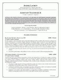 Resume Format For Teachers Job by Teaching Assistant Cover Letter Example Cover Letter Examples