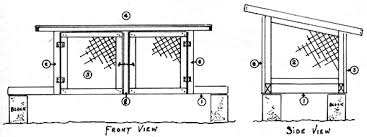 diy rabbit hutch design do it yourself mother earth news