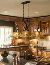 ash wood natural amesbury door chandelier over kitchen island