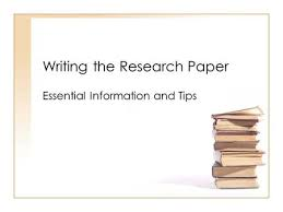 Research Paper Writing Lessons Imhoff Custom Services