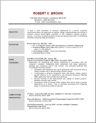 Example Of Resume No Experience by Charming Idea Objective For Resume Samples 13 Writing An Objective