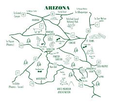 Map Az Getting To Arizona U0027s White Mountains Arizona White Mountains