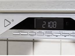 Kitchen Tv Under Cabinet by Ur2040 Under Cabinet Fm Dab Bluetooth Kitchen Radio Buycleverstuff