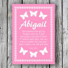 wedding bible verses for invitations abigail christian wall art nursery poster baby name bible