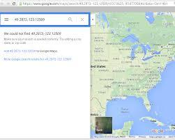 Lat Long Map Google Maps Url With Lat U0026 Lon Returns