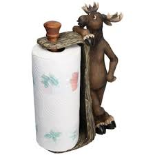 Moose Bathroom Accessories by River U0027s Edge Products Moose Paper Towel Holder Free Shipping On