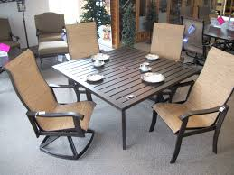 Black Wrought Iron Patio Furniture Sets by Exterior Interesting Black Metal Patio Furniture By Woodard Furniture