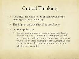 essay on thinking Dailymotion Thesis Statements