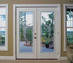 exterior door with blinds between glass patio doors best black french doors ideas on pinterest patio