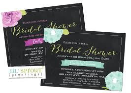 photo bridal shower invitations etiquette editable image