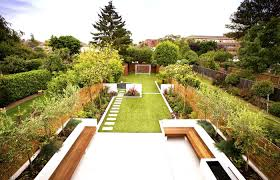 large garden with awesome seating under tree idea backyard garden