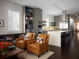 cool kitchen and living room design with living room kitchen combo