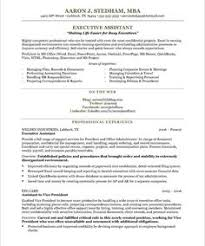 Executive Assistant Resume Sample   http   jobresumesample com     executive