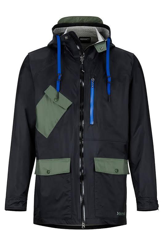 Marmot Ashbury PreCip Eco Jacket Black/Crocodile Extra Large 31650-1516-XL