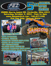 monster truck show schedule 2014 samson monster truck hall of fame news monstertrucks mattel