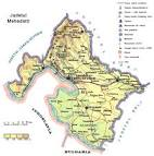 Judetul Mehedinti - Harta Romaniei